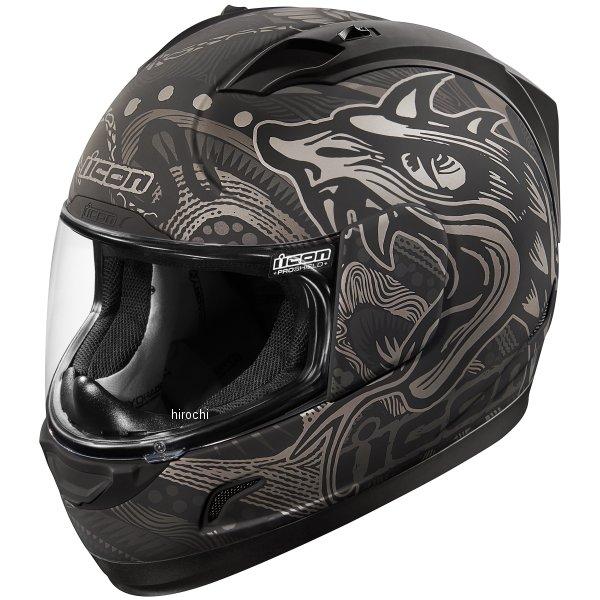 【USA在庫あり】 アイコン ICON フルフェイスヘルメット Alliance Oro Boros 黒 XLサイズ(61cm-62cm) 0101-10690 HD店