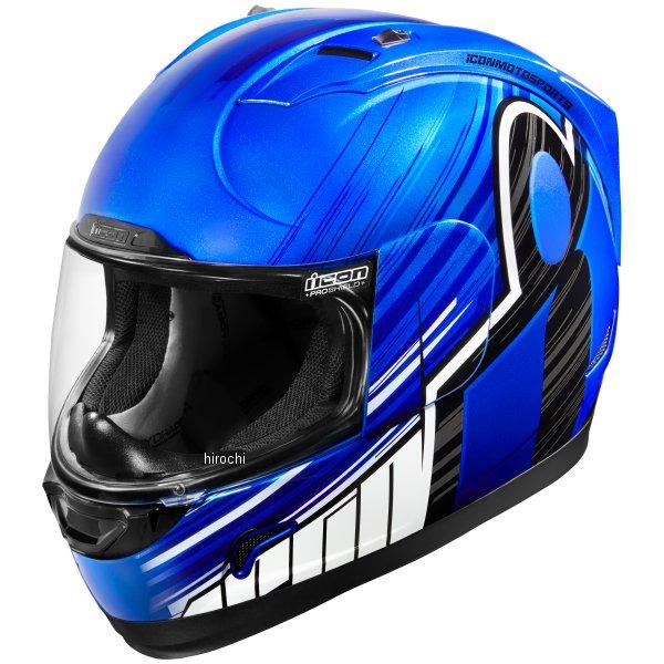【USA在庫あり】 アイコン ICON フルフェイスヘルメット Alliance OverLord 青 2XLサイズ(63cm-64cm) 0101-10705 HD店