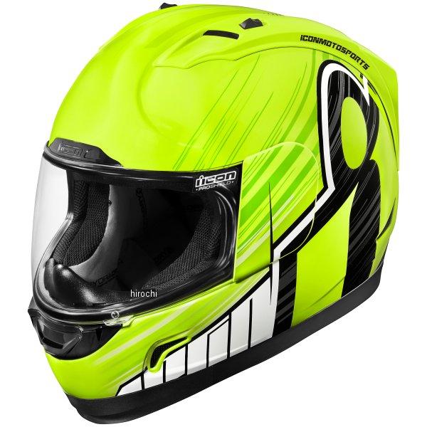 【USA在庫あり】 アイコン ICON フルフェイスヘルメット Alliance OverLord ハイビズ 2XLサイズ(63cm-64cm) 0101-10712 HD店