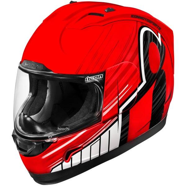 【USA在庫あり】 アイコン ICON フルフェイスヘルメット Alliance OverLord 赤 2XLサイズ(63cm-64cm) 0101-10719 HD店