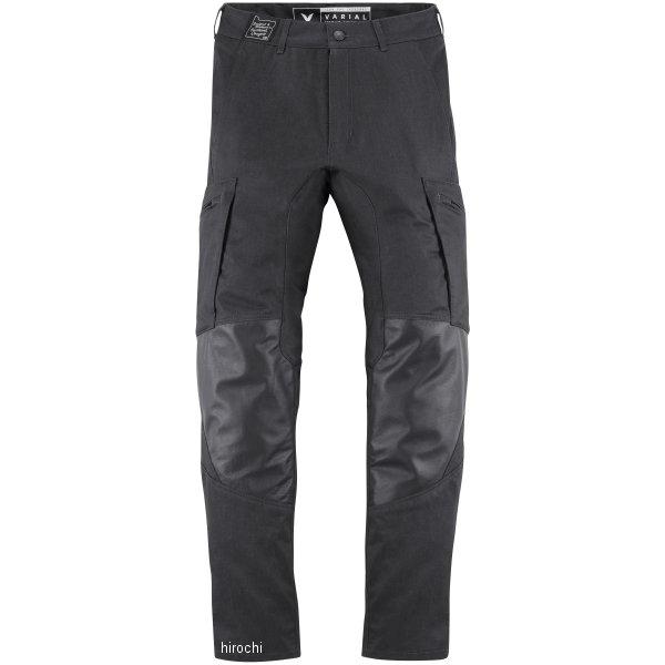 【USA在庫あり】 アイコン ICON 2018年春夏モデル パンツ VARIAL 黒 28サイズ 2821-1037 HD店