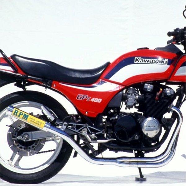 アールピーエム RPM フルエキゾースト 67レーシング 83年以降 GPZ400F、GPZ400F2 チタン 1608Y HD店