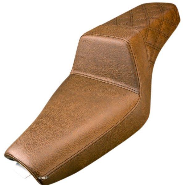 【USA在庫あり】 サドルメン Saddlemen シート Step-up LS XL 3.3ガロン ブラウン 0804-0689 HD店