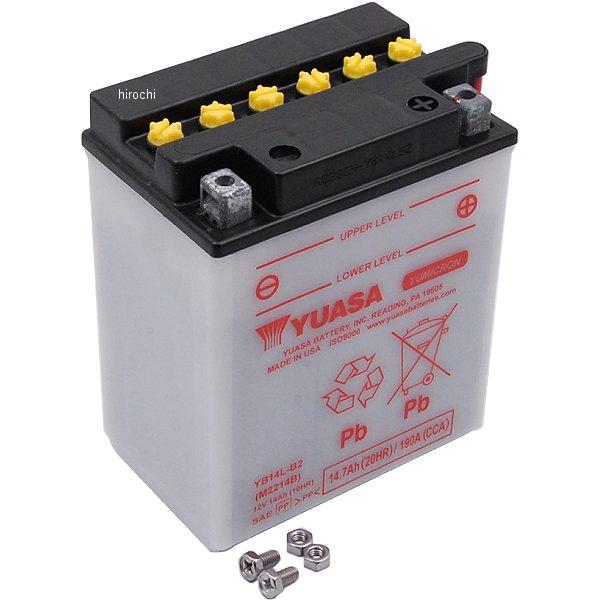 【USA在庫あり】 ユアサ YUASA バッテリー 開放型 YB14L-B2 HD店