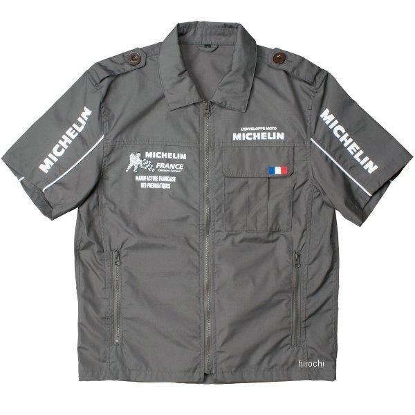 ミシュラン MICHELIN 2018年春夏モデル ピットシャツ グレー XLサイズ ML18108S HD店