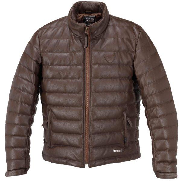 1183 カドヤ KADOYA 秋冬モデル 革ジャン シングル オールレザーダウンジャケット ブラウン Lサイズ 1183-0/BRL HD店
