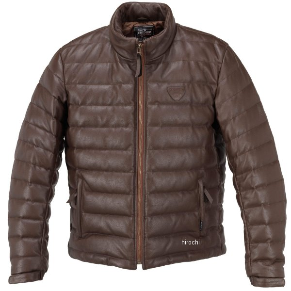 1183 カドヤ KADOYA 秋冬モデル 革ジャン シングル オールレザーダウンジャケット ブラウン LLサイズ 1183-0/BRLL HD店