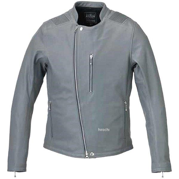 カドヤ KADOYA 春夏モデル レザージャケット ATLAS グレー LLサイズ 1186-0 HD店