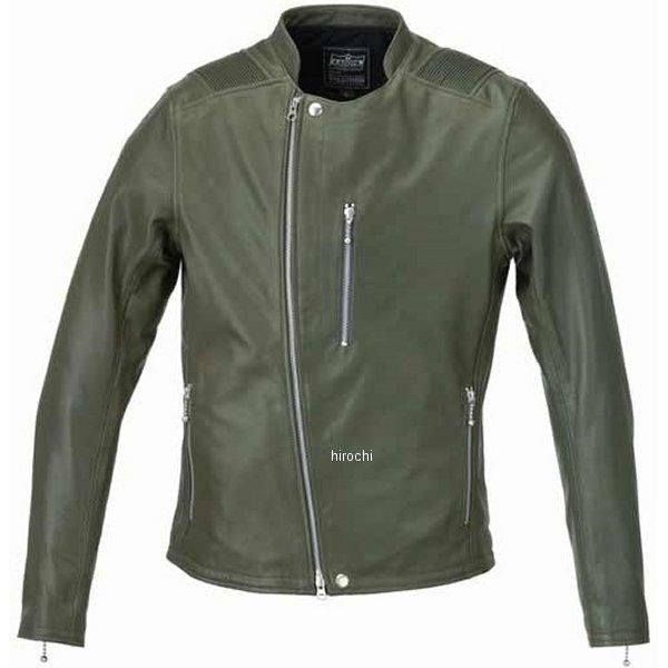 カドヤ KADOYA 春夏モデル レザージャケット ATLAS 緑 Lサイズ 1186-0 HD店