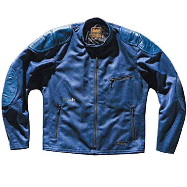 カドヤ KADOYA 春夏モデル メッシュライダースジャケット OLD MANX ネイビー LLサイズ 6228-0 HD店