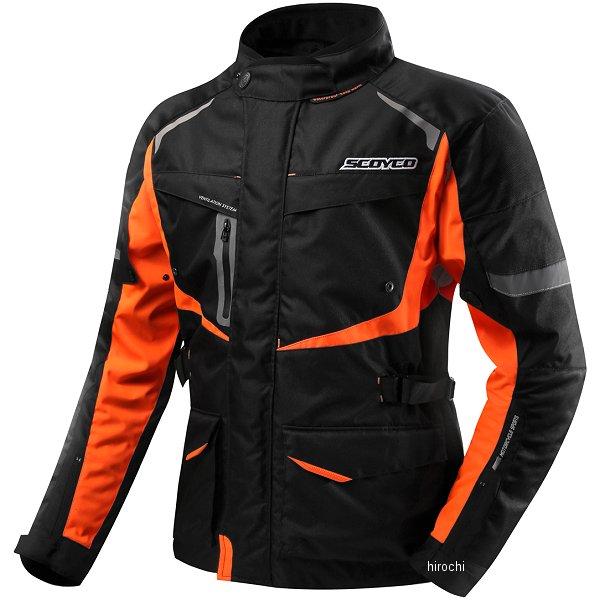 スコイコ SCOYCO FLOW SHADOW ウインタージャケット オレンジ Lサイズ JK42/OR/L HD店