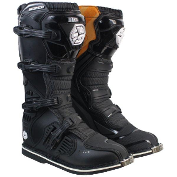 スコイコ SCOYCO ベーシックモトクロスブーツ 黒 43サイズ MBM001/BK/43 HD店