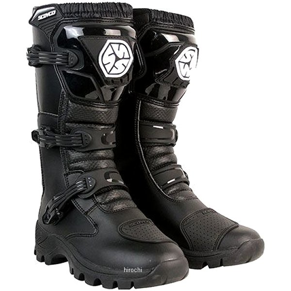スコイコ SCOYCO オフロードトレッキングブーツ 黒 45サイズ MBT012/BK/45 HD店