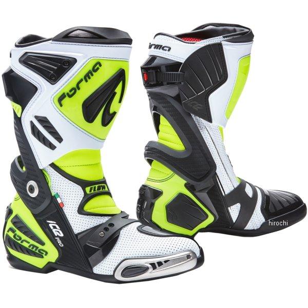 フォーマ FORMA ブーツ ICE PRO FLOW 白/黒/黄/フロー 45サイズ(28.0cm) 8052998017951 HD店