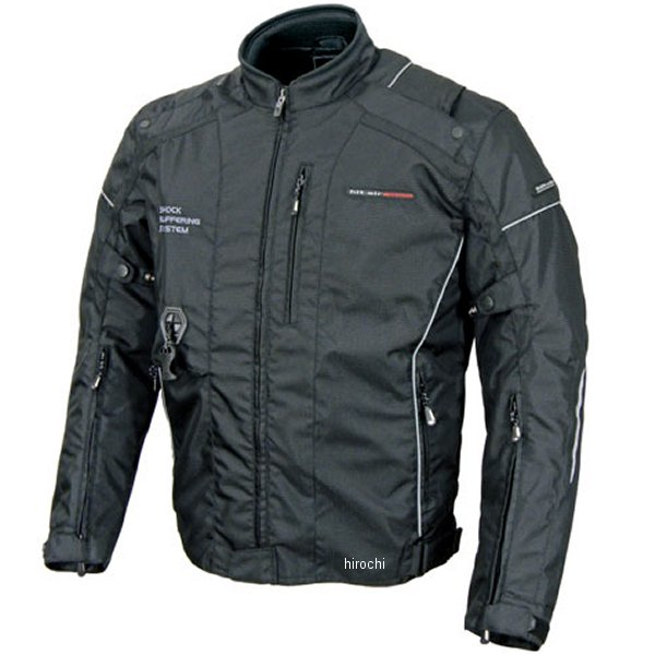 ヒットエアー hit-air エアバッグジャケット HS-5 黒 3XLサイズ 4560216417765 HD店