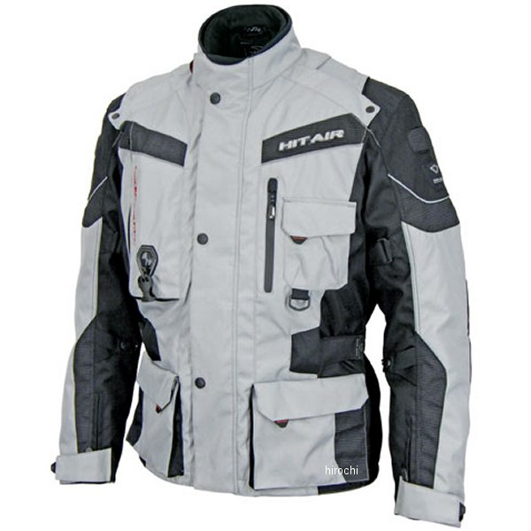 EU-6 ヒットエアー hit-air エアバッグジャケット グレー Mサイズ 防水 4560216417888 HD店