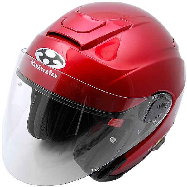 オージーケーカブト OGK Kabuto ヘルメット ASAGI シャイニーレッド XLサイズ 4966094544454 HD店