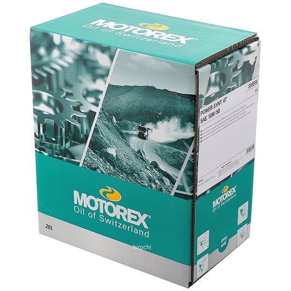モトレックス MOTOREX TOP SPEED MC 4T 5W-40 4サイクルオイル 20L 97872 HD店