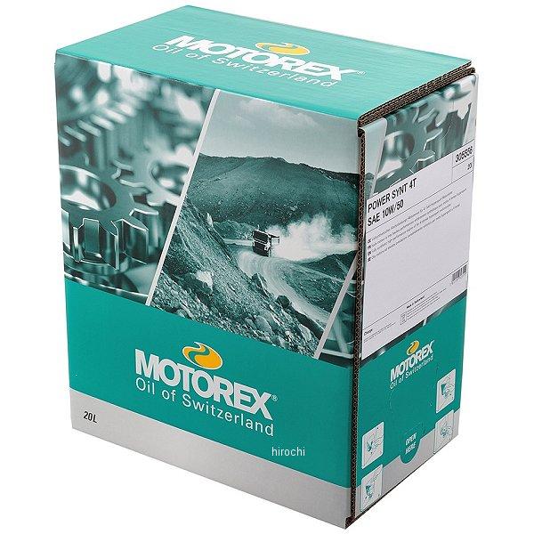 モトレックス MOTOREX LエンジンEND 4T 20W-50 4サイクルオイル 20L 97878 HD店