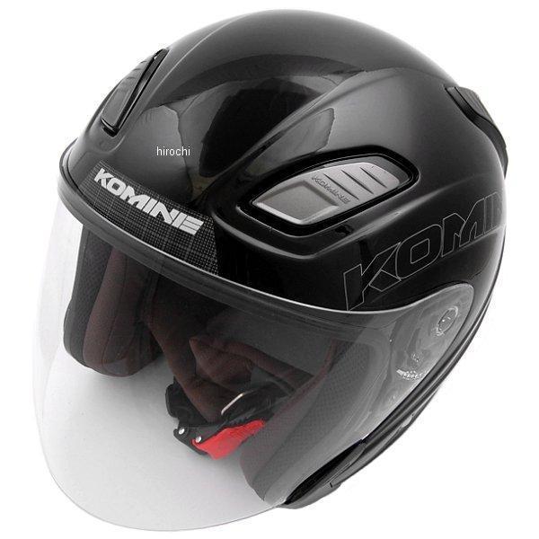 【メーカー在庫あり】 HK-168 コミネ KOMINE ヘルメット プルートX ブラック Lサイズ 4560163754159 HD店