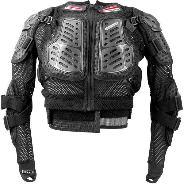 SK-677 コミネ KOMINE X-セーフティジャケット ブラック XLサイズ 4560163755057 HD店