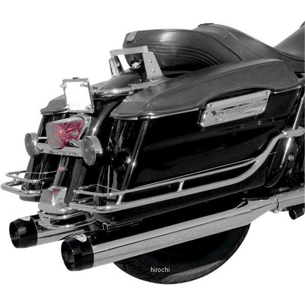 【USA在庫あり】 LAチョッパーズ LA Choppers 4インチ スリップオンマフラー TRU 95年-16年 クローム/黒 1801-0556 HD店