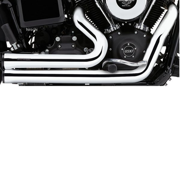 【USA在庫あり】 コブラ COBRA フルエキゾースト スピードスター ショート 07年-11年 ソフテイル クローム 1800-2145 HD店