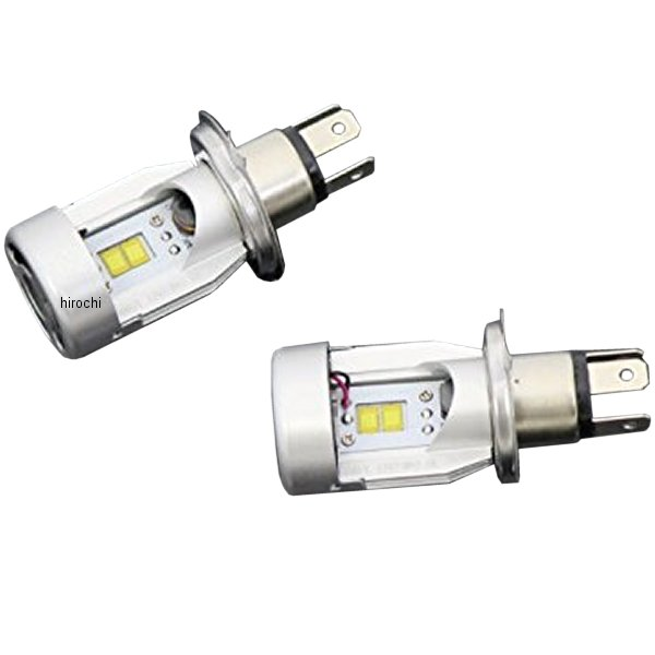 マッドマックス MAD MAX LEDヘッドライトバルブ H4 放熱ファン付 12V-24V兼用 白 MM13-0035-01 HD店