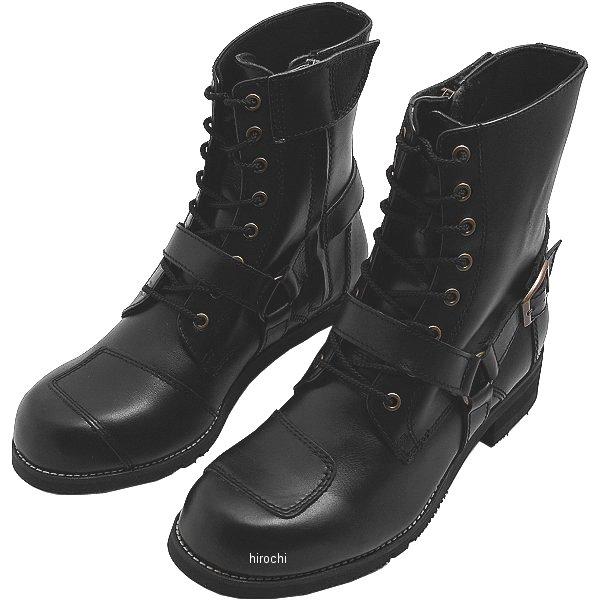 ワイルドウイング WILDWING ライディングブーツ ファルコン レディース 黒 22.5cm WWM-0001 HD店