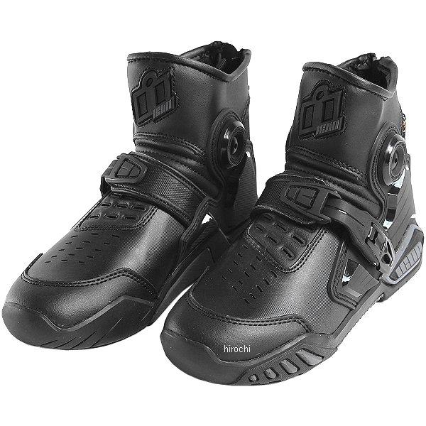 【メーカー在庫あり】 アイコン ICON レザーブーツ ACCELERANT 黒 10サイズ 28cm 3403-0776 HD店