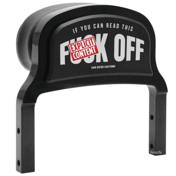 【USA在庫あり】 サンディエゴカスタム San Diego Customs シーシーバー FXR F-Off 黒つや有り 482276 HD店