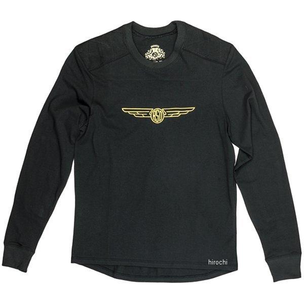 ローランドサンズデザイン RSDアパレル ブロディ ロングスリーブ シャツ 黒 MD 0806-0405-0053 HD店
