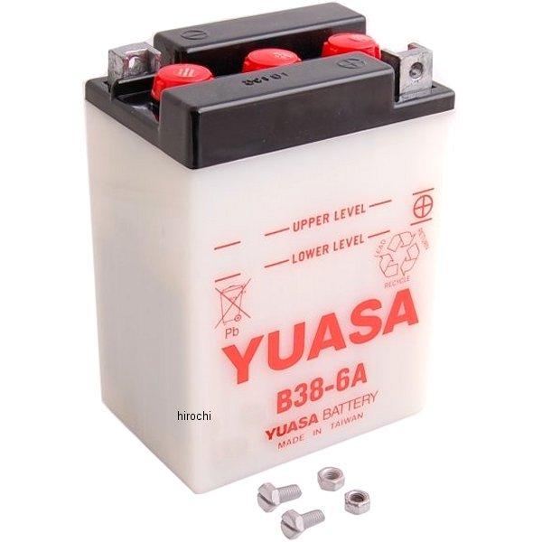 【USA在庫あり】 ユアサ YUASA バッテリー 開放型 6V B38-6A 581001 HD店