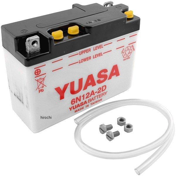 【USA在庫あり】 ユアサ YUASA バッテリー 開放型 6N12A-2D 581006 HD店