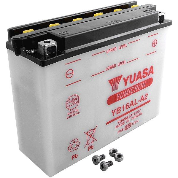 【USA在庫あり】 ユアサ YUASA バッテリー 開放型 YB16AL-A2 581078 HD店
