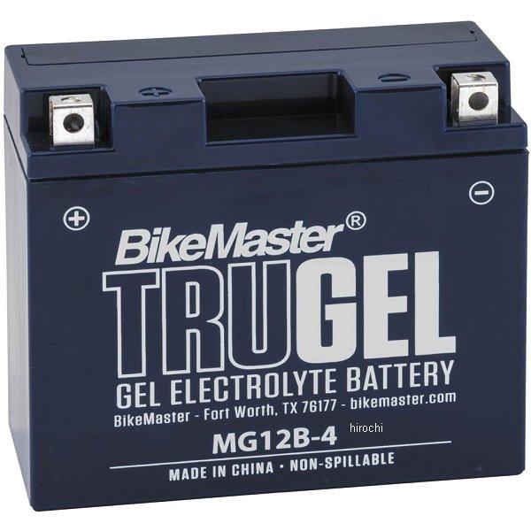 【USA在庫あり】 バイクマスター BikeMaster ゲルバッテリー YT12B-BS互換 780507 HD店