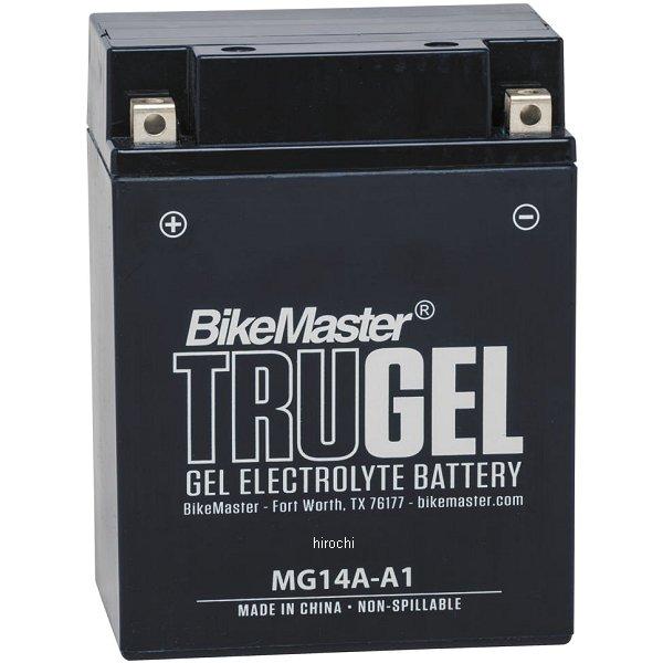 【USA在庫あり】 バイクマスター BikeMaster ゲルバッテリー YB14A-A1互換 780510 HD店