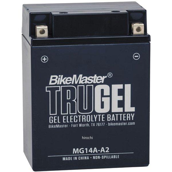 【USA在庫あり】 バイクマスター BikeMaster ゲルバッテリー YB14A-A2互換 780511 HD店
