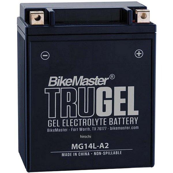 【USA在庫あり】 バイクマスター BikeMaster ゲルバッテリー YB14L-A2互換 780514 HD店