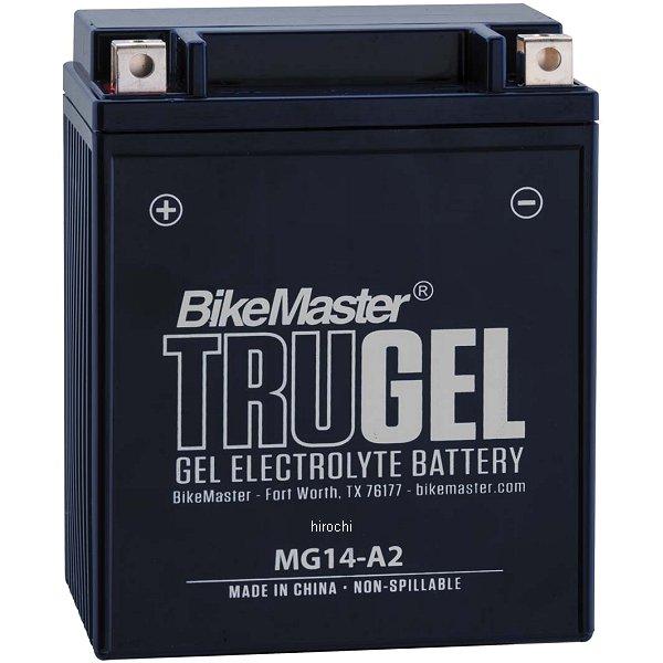 【USA在庫あり】 バイクマスター BikeMaster ゲルバッテリー YB14-A2、YB14-B2互換 780515 HD店