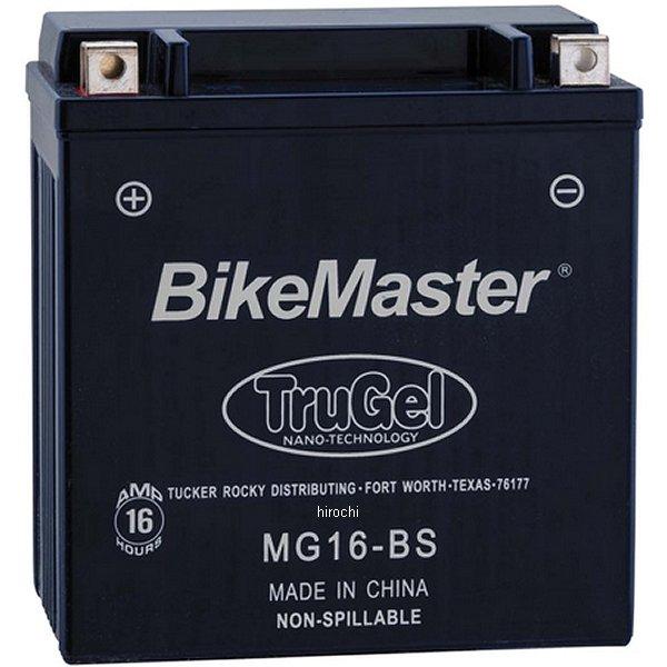 【USA在庫あり】 バイクマスター BikeMaster ゲルバッテリー YTX16-BS互換 780520 HD店