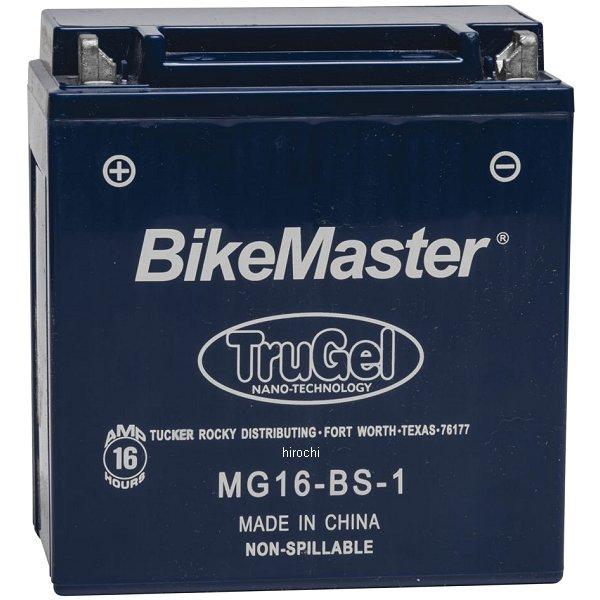 【USA在庫あり】 バイクマスター BikeMaster ゲルバッテリー YTX16-BS-1互換 780521 HD店