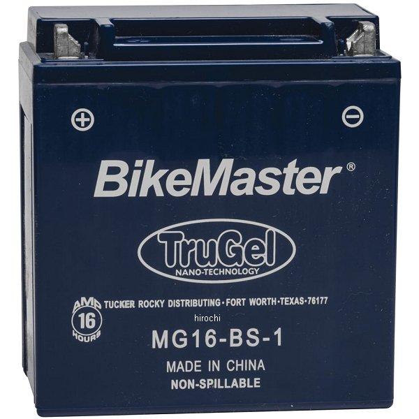 【USA在庫あり】 バイクマスター BikeMaster ゲルバッテリー YB16CL-B互換 780522 HD店