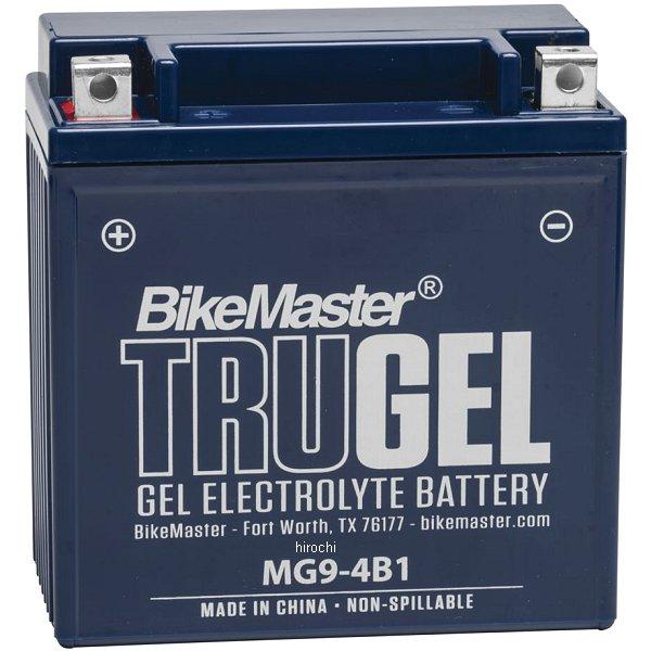 【USA在庫あり】 バイクマスター BikeMaster ゲルバッテリー YB9-B、12N9-4B-1互換 780543 HD店