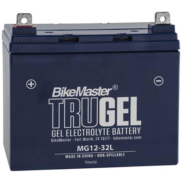 【USA在庫あり】 バイクマスター BikeMaster ゲルバッテリー SLA12-32互換 780557 HD店