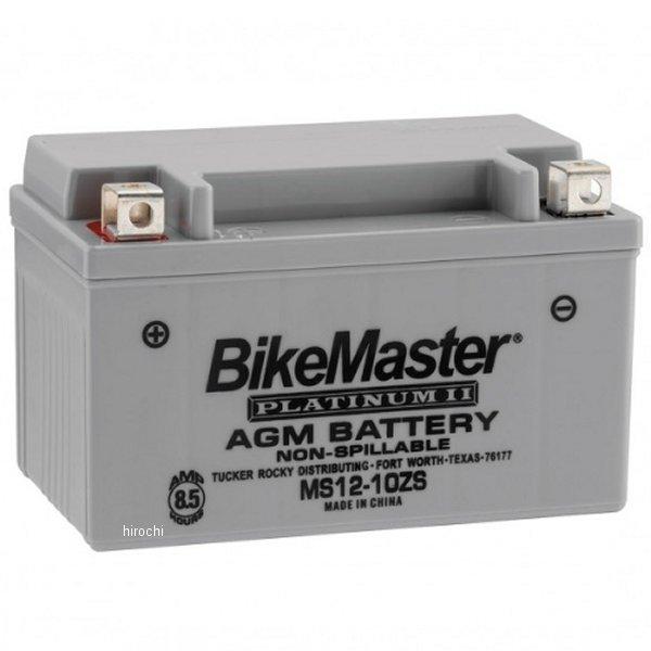 【USA在庫あり】 バイクマスター BikeMaster AGM バッテリー YTZ10S、YT10B-4互換 780701 HD店