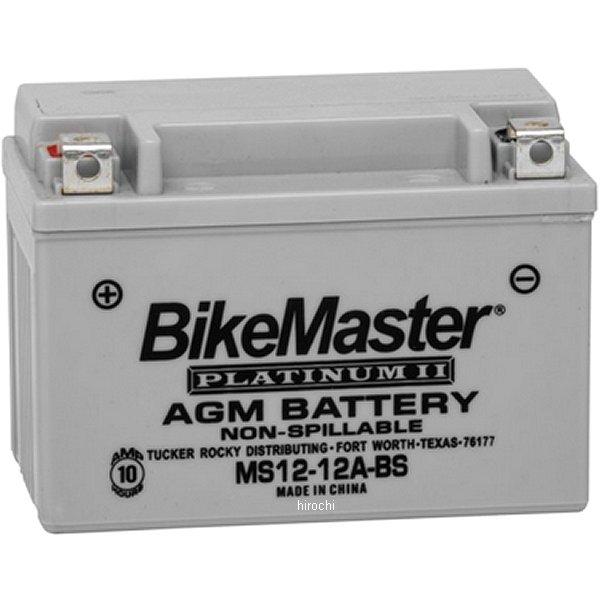 【USA在庫あり】 バイクマスター BikeMaster AGM バッテリー YT12A-BS互換 780704 HD店