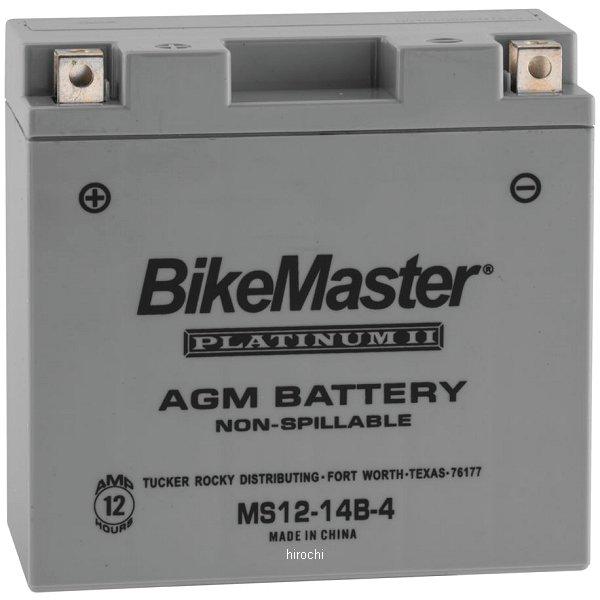 【USA在庫あり】 バイクマスター BikeMaster AGM バッテリー YT14B-BS互換 780712 HD店