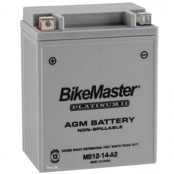 【USA在庫あり】 バイクマスター BikeMaster AGM バッテリー YB14-A2,12N14-3A,12N14-3B互換 780715 HD店