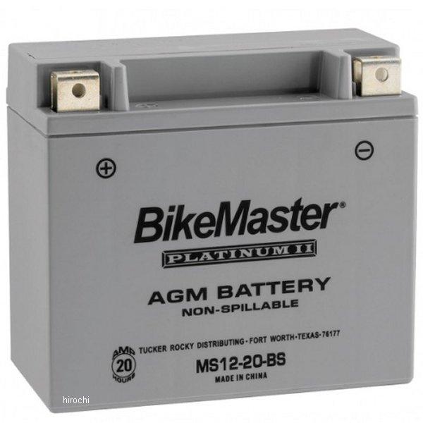 【USA在庫あり】 バイクマスター BikeMaster AGM バッテリー YTX20-BS互換 780725 HD店